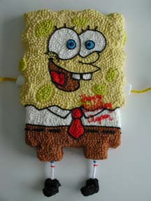 Spongebob squarepants birthday cake ideas