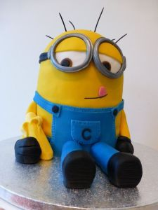 minion birthday cake for kids 1