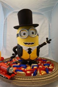 minion in a top hat
